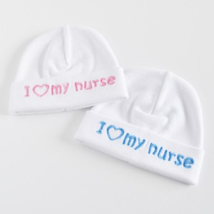 Embroidered Hat - I love my nurse