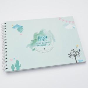 Baby Milestone Memory Book